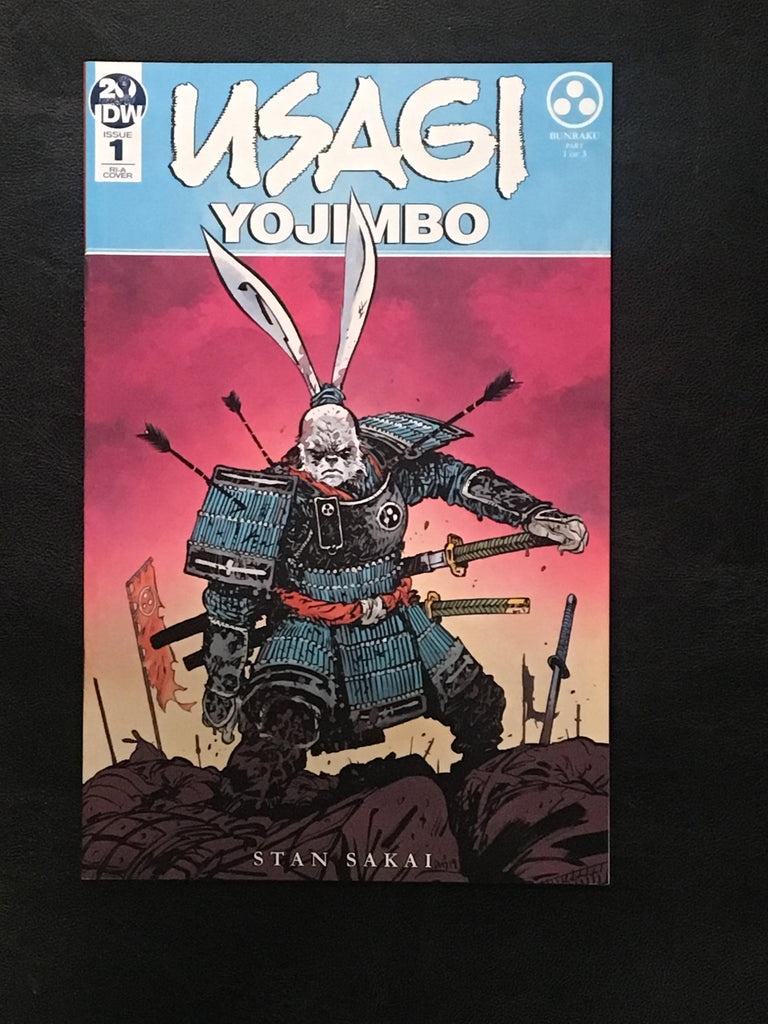 Usagi Yojimbo #1 Ratios