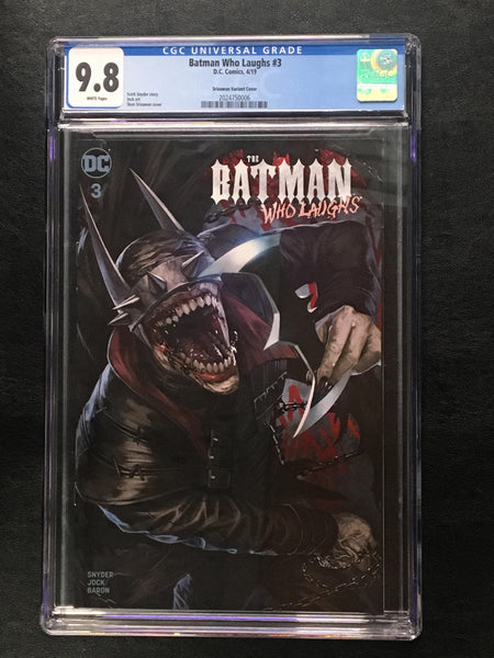 Batman Who Laughs #3 CGC