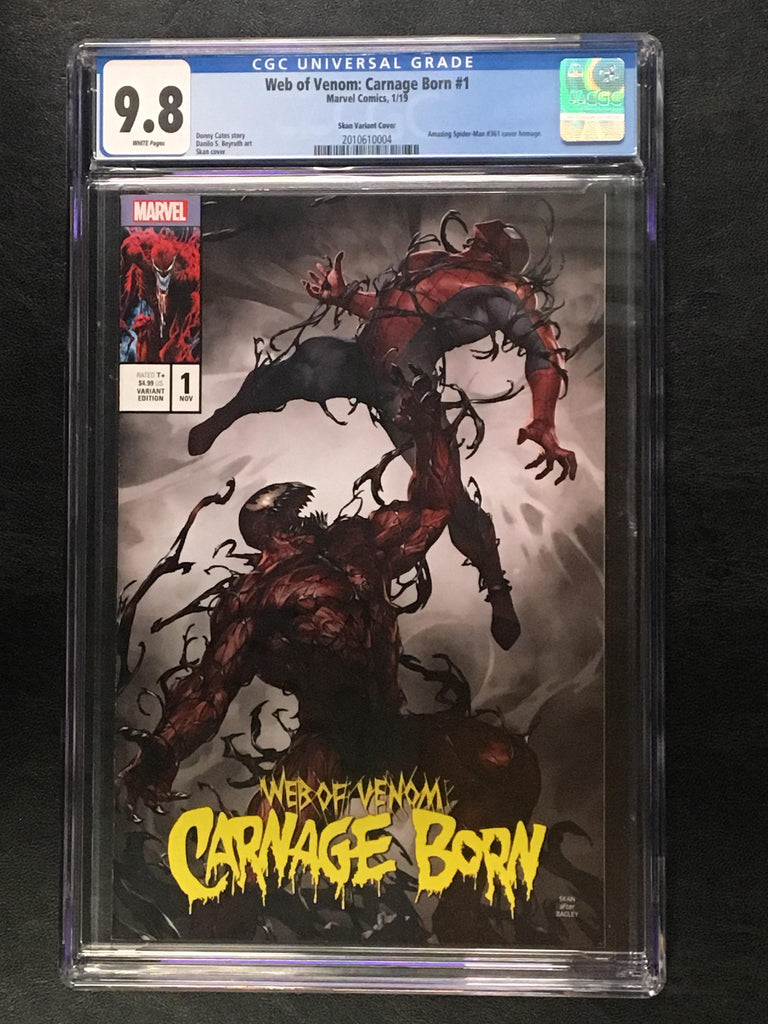 Web of Venom: Carnage Born #1 CGC