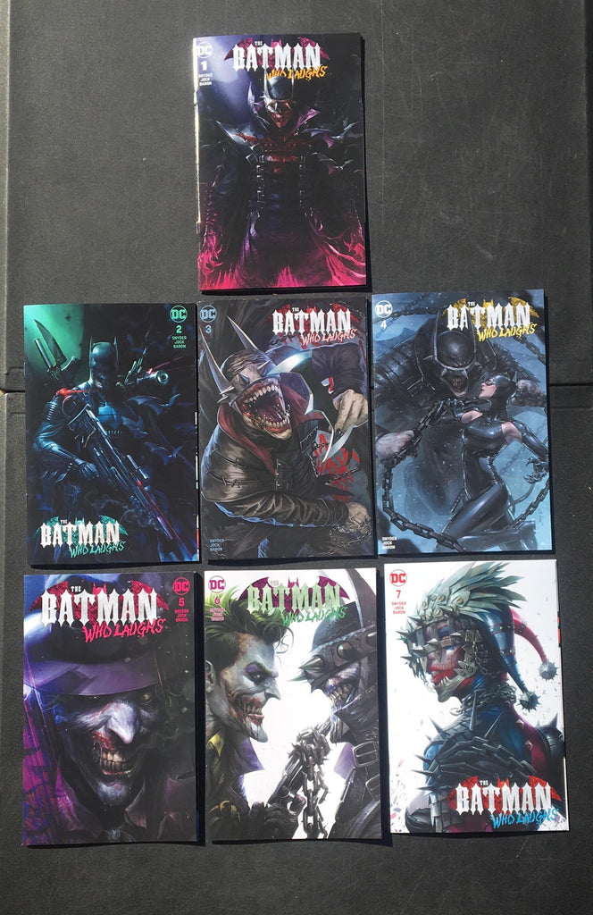 Batman Who Laughs #1-7 trade set