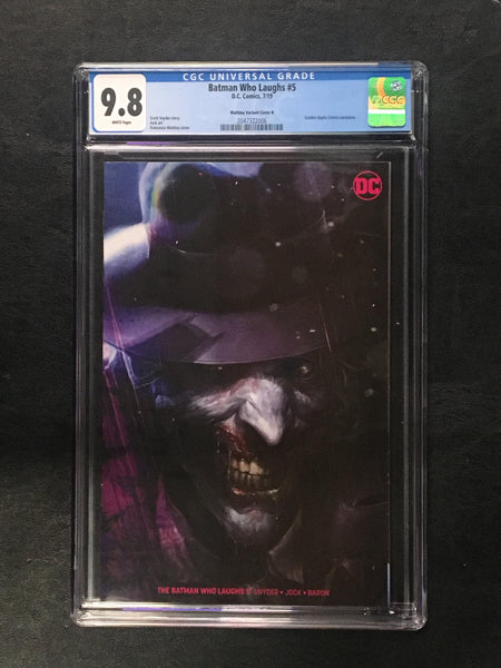 Batman Who Laughs #5 CGC