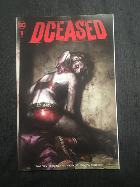 DCEASED #1 Harley Jeehyung Lee