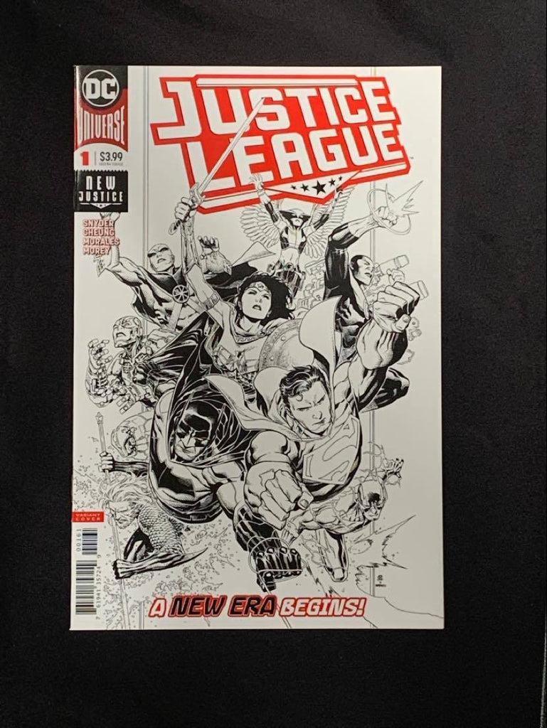 Justice League #1 Ratio