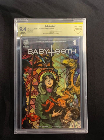 BABYTEETH #1 MIKE ROOTH signature LENTICULAR VARIANT CBCS