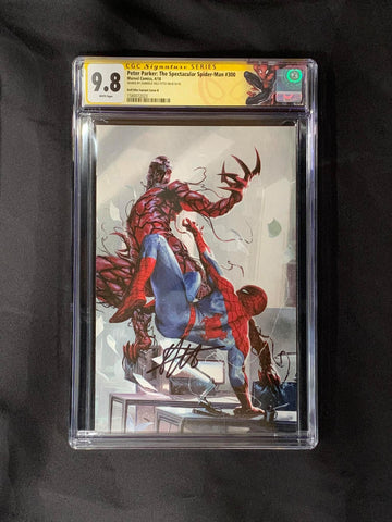 Peter Parker: The Spectacular Spider-Man #300 Virgin Dell'otto Signature