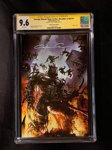 TMNT: Shredder in Hell #1 CGC