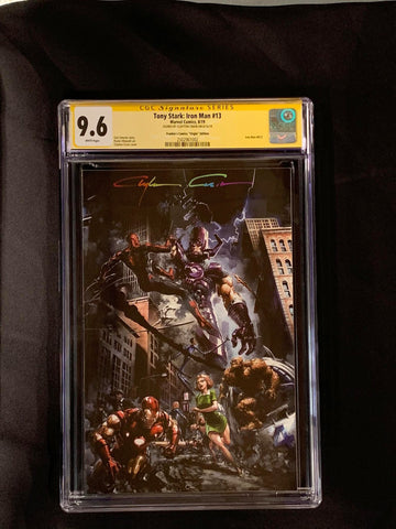 Tony Stark: Iron Man #13 CGC