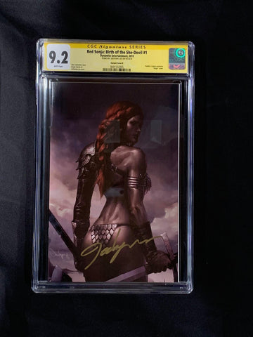 Red Sonja: Birth of the She-Devil #1 CGC