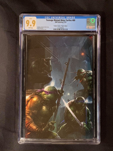 Teenage Mutant Ninja Turtle #80 Virgin CGC