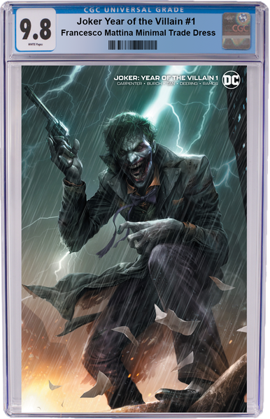 Joker Year of the Villain #1 Francesco Mattina