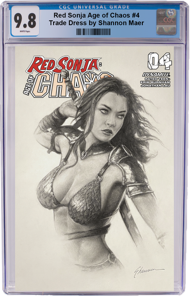Red Sonja Age of Chaos #4 Shannon Maer