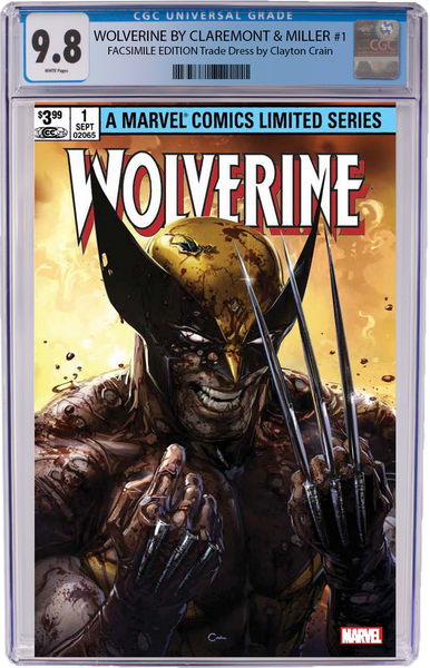 Wolverine #1 Homage by Clayton Crain