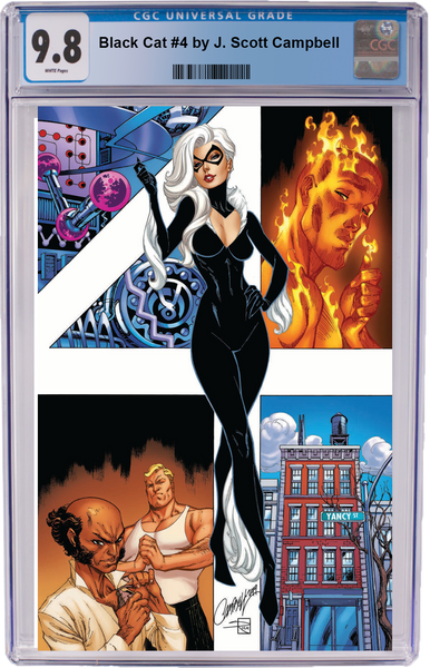 Black Cat #4 J. Scott Campbell Virgin