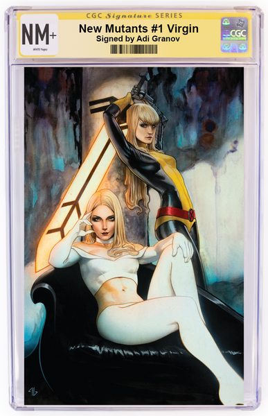 New Mutants #1 Adi Granov