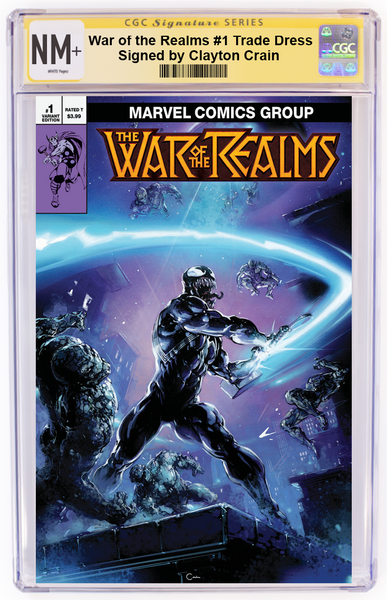 War of The Realms #1 Clayton Crain