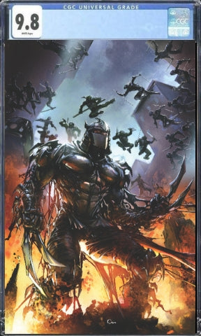 Shredder in Hell #1 Clayton Crain