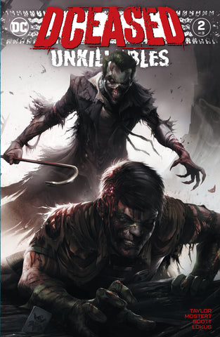 DCEASED Unkillables #2 Mattina Fanexpo Dallas Exclusive