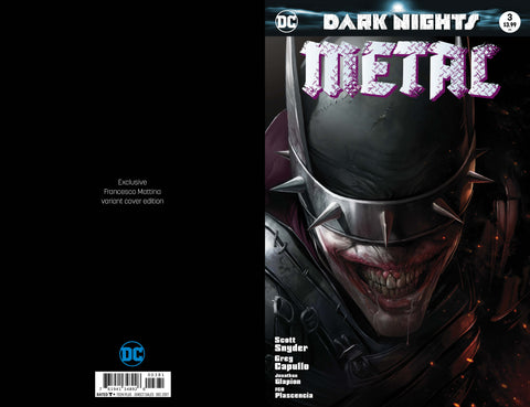DARK NIGHTS METAL #3 Trade Dress