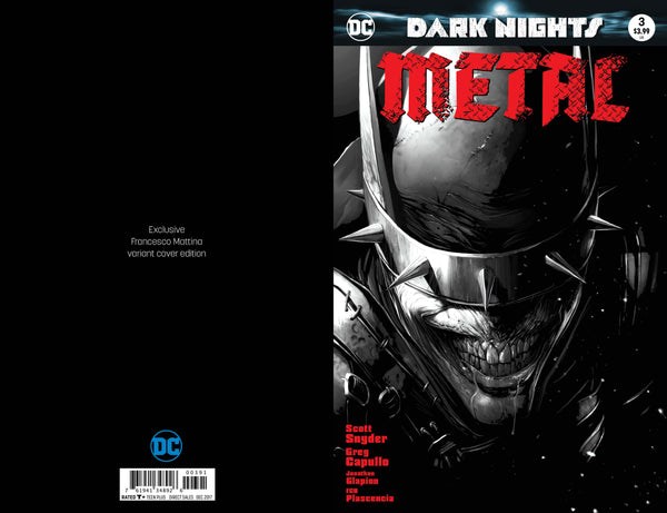 DARK NIGHTS METAL #3 MATTINA BW SET