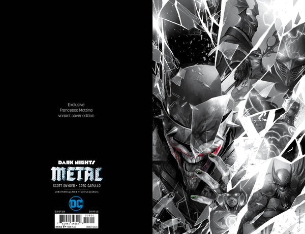 Dark Nights Metal #6 Mattina Virgin Set