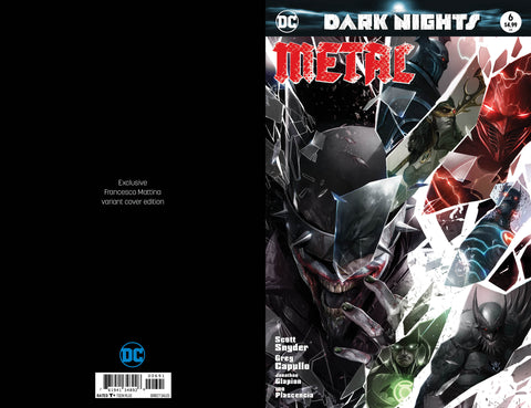 Dark Nights Metal #6 Shattered Glass Trade Dress