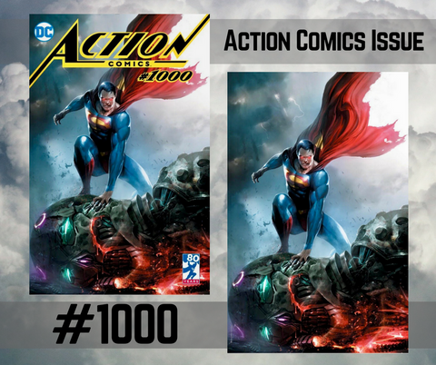 Action Comics #1000 Mattina Set