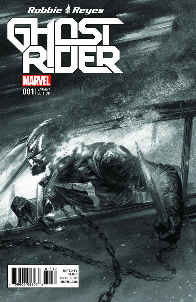 NOW GHOST RIDER #1 GABRIELE DELL'OTTO VARIANT COLOR & BW