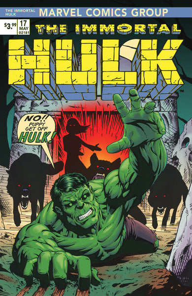 Immortal Hulk #17 JTC MegaCon Exclusive