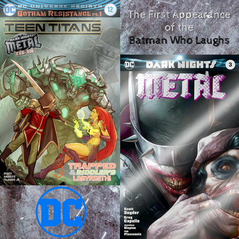Teen Titans #12 & Dark Nights Metal #3 Foil Set