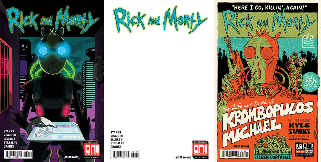 Rick and Morty #34 Set