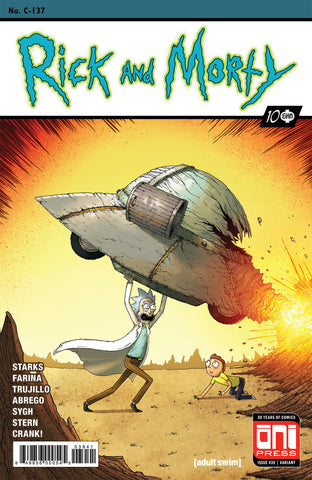 Rick and Morty #39 Action Comics #1 Homage