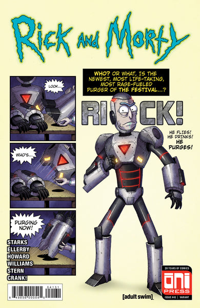 Rick and Morty #41 Tales of Suspense #39 Homage