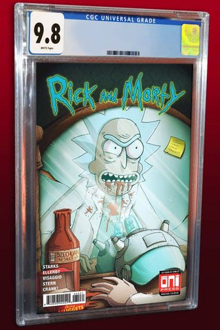 Rick and Morty #35 Demon in a Szechuan Bottle CGC 9.8