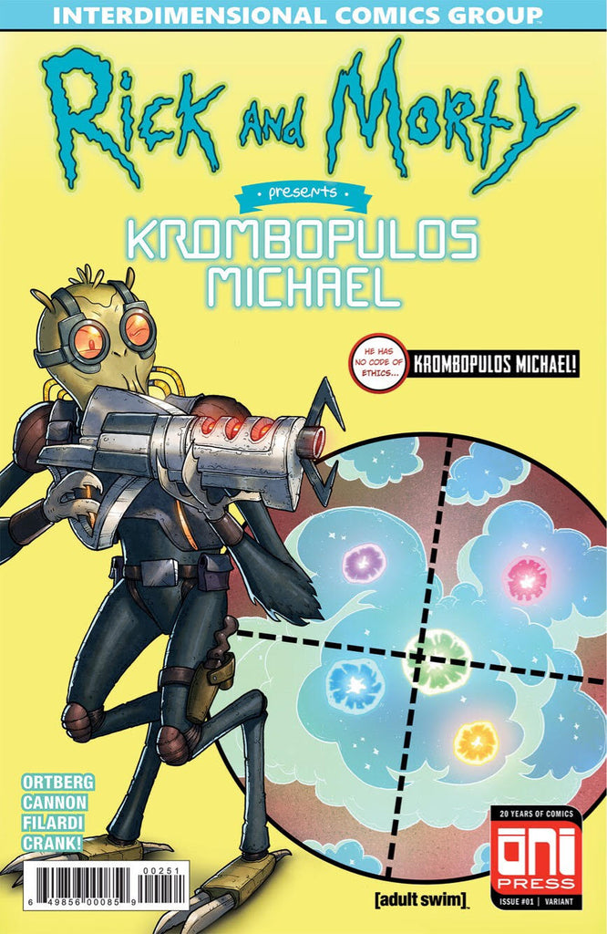 Rick and Morty Presents Krombopulos Michael ASM 129 Homage