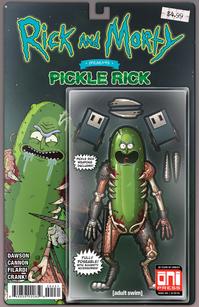 Rick and Morty: Pickle Rick #1