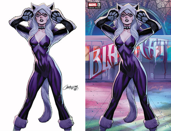 BLACK CAT #1 J. Scott Campbell