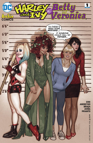 Harley and Ivy Meet Betty and Veronica #1 Adam Hughes