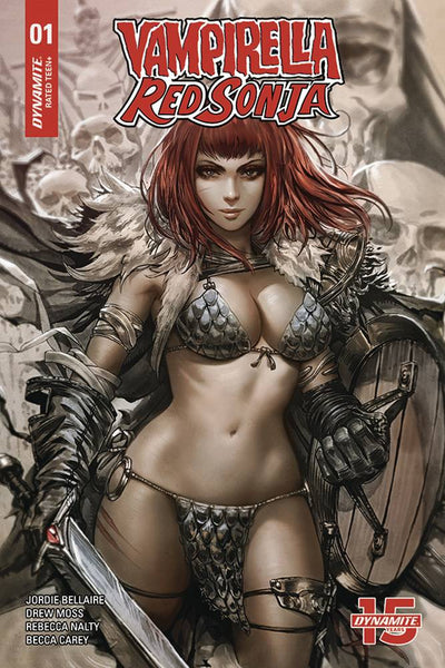 Vampirella Red Sonja #1 Ratios