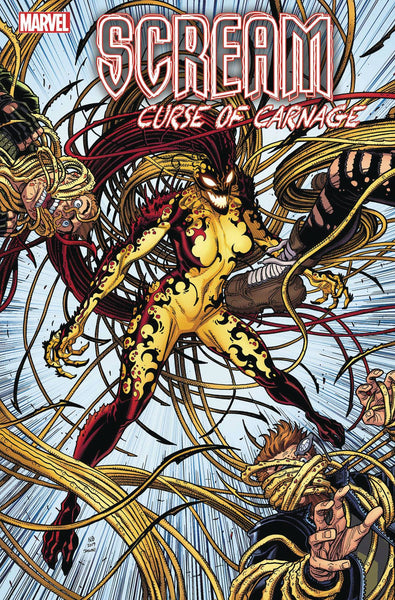 Scream Curse of Carnage #1 Ratios
