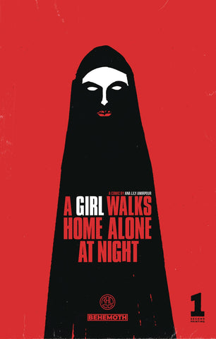 A Girl Walks Home Alone at Night #1 Second Print