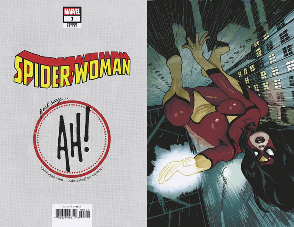Spider-Woman #1 Adam Hughes