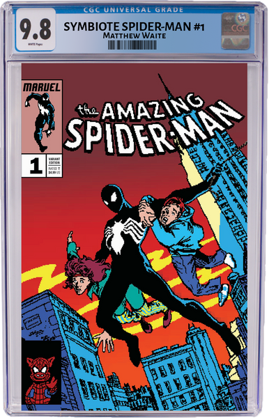 Amazing Spider-Man #252 Homage 16bit