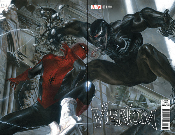 VENOM #3 GABRIELE DELL'OTTO COLOR B&W VARIANTS