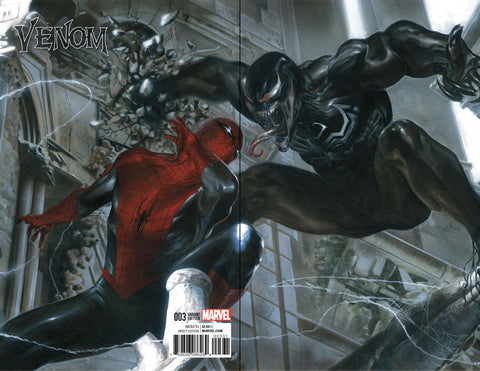 VENOM #3 GABRIELE DELL'OTTO COLOR B&W VIRGIN VARIANT SETS