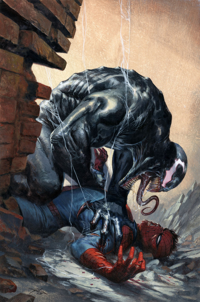NOW VENOM #4 GABRIELE DELL'OTTO VARIANT COLOR & BW