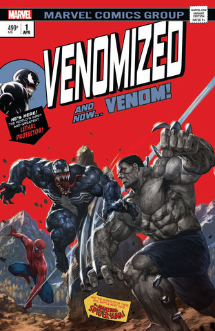 Venomized #1 Homage 181 Hulk