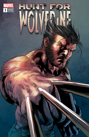Hunt for Wolverine #1 Trade Dress