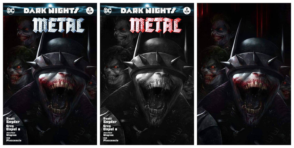 Dark Nights Metal #2 3RD PTG Virgin Set