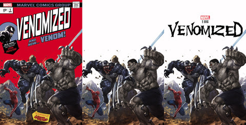 Venomized #1 Homage Hulk 181 Virgin Set