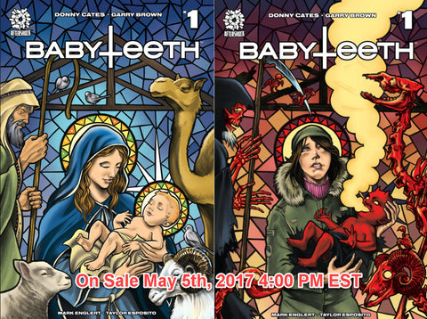 BABYTEETH #1 MIKE ROOTH LENTICULAR & GOOD/EVIL SET